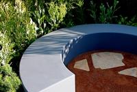 Circular seat & gravel