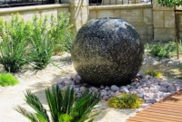 Water feature by Floating Stones