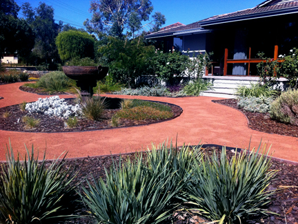 Attractive Easy Care Wild About Gardens Garden Design Perth Wa