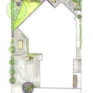 Funky Design for a small garden