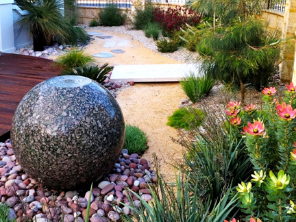 Garden Design Perth lawn to native garden | wild about gardens || garden design perth wa