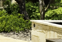 Boobook Landscaping limestone pond